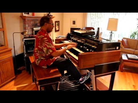 Don Lewis Hammond Organ Improv Jam