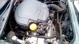 Работа Двигателя Renault 1.4 v8 после регулировки клапанов Logan Kangoo Clio Symbol