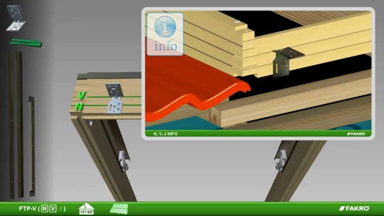 Fakro finestre da tetto finestre a bilico ftp v con for Finestre per tetto