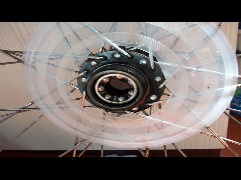 Как поменять подшипники заднего колеса. Велосипед Stels Navigator 550