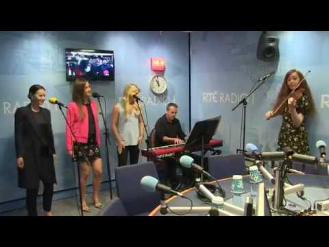 """Celtic Woman in studio on Today with Sean O'Rourke to perform """"Mo Ghile Mear"""" 8+8+2017"""