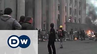 Трагедия 2 Мая 2014 года в Одессе: никто не признает своей вины(48 погибших, около 250 раненых. Генпрокуратура Украины еще не завершила расследование трагедии 2 мая прошлого..., 2015-05-01T10:53:55.000Z)