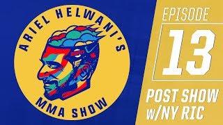 Ariel Helwani's MMA Post-Show: Episode 13 – UFC Fight Night Betting Lines