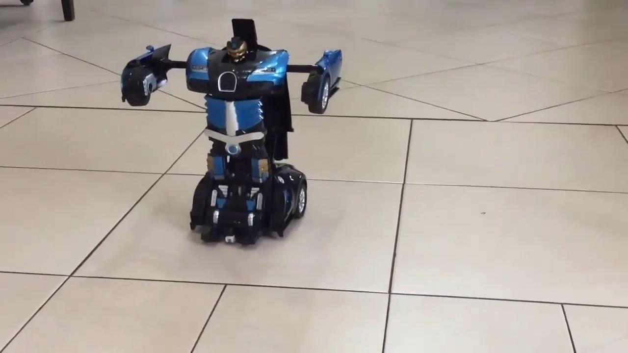 Игрушки для мальчиков Машинка робот трансформер на ...
