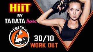 TABATA 30/10 - HiiT Workout music w/ TIMER - TABATAMANIA