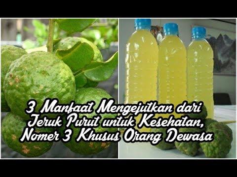 Efek Minum Air Jeruk Nipis Setiap Hari