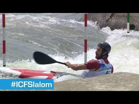 Finals K1M Slalom 3 | Tacen 2014