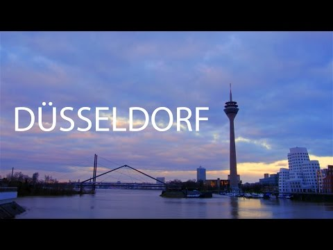 Düsseldorf in 4K