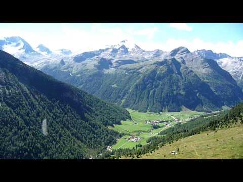 Panorama dall'Alta Via di Riva di Tures (Reiner Höhenweg)