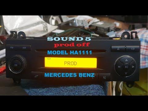 SOUND 5 HA1111 Mercedes Benz PROD OFF