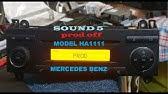 Mercedes-Benz Audio 10 CC - Bluetooth Integration - YouTube