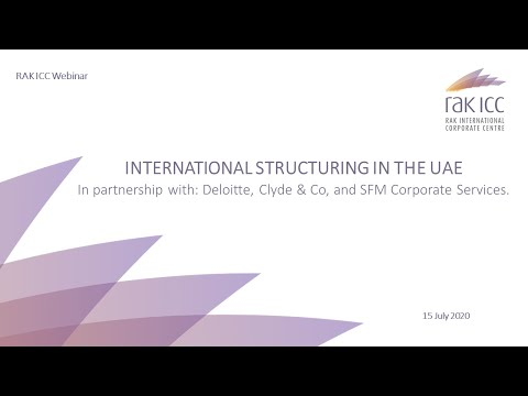 International Structuring in the UAE