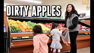 WE BOUGHT DIRTY APPLES! -  ItsJudysLife Vlogs