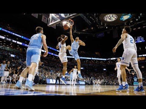 UNC Men's Basketball: Garrison Brooks with the BIG DOG Dunks vs. Duke