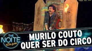 The Noite (22/09/16) - Murilo Couto quer virar artista de circo