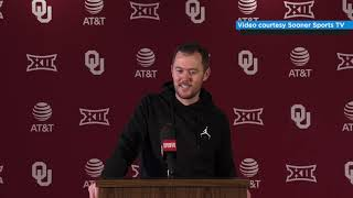 OU Football - Lincoln Riley at Pro Day