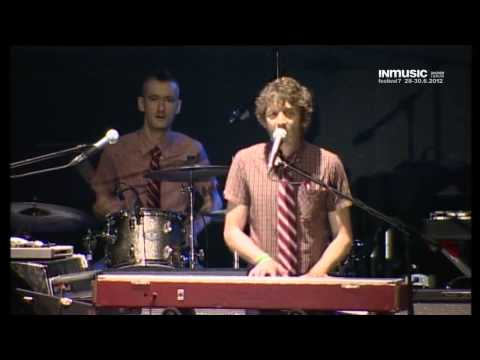 General Elektriks - The Spark - Live @ INmusic festival 2012