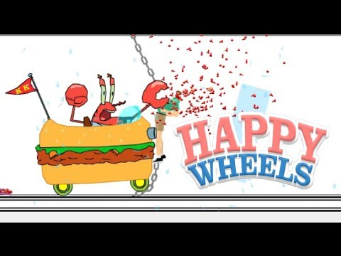 EVIL MR. KRABS! [HAPPY WHEELS MADNESS]