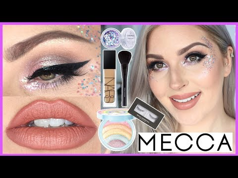 Glitter Festival Makeup Tutorial ✨💕MAKEUP CHALLENGE WITH #MECCALAND