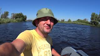 Рыбалка в Беларуси Ещё один выезд на Лахву в июне 2021г Река Припять рыбалка в жару