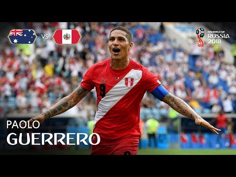 Paolo GUERRERO Goal - Australia v Peru - MATCH 38