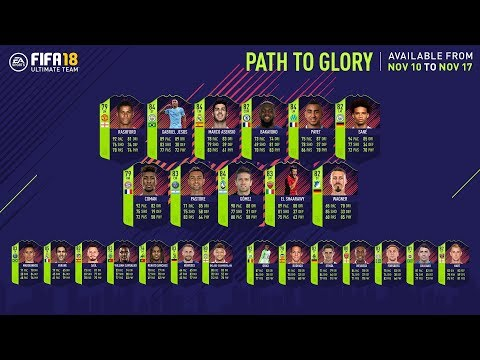 FIFA 18 Path to Glory Cards / FIFA 18 World Cup Cards! PTG PLAYERS?!