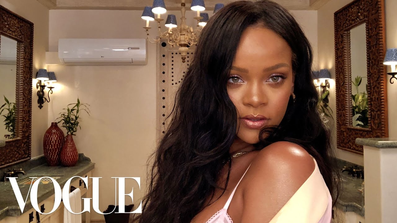 Rihanna's Epic 10-Minute Guide to Going Out Makeup | Beauty ...