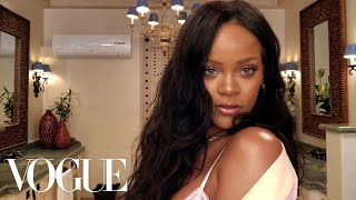 Rihanna's Epic 10 Minute Guide To Going Out Makeup | Beauty Secrets | Vogue