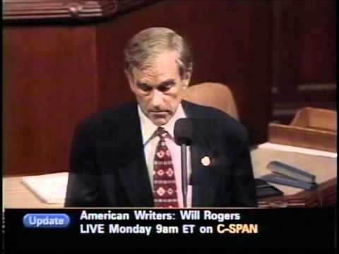 """Ron Paul: """"This real-estate bubble will burst, as all bubbles do"""" (part 3)"""