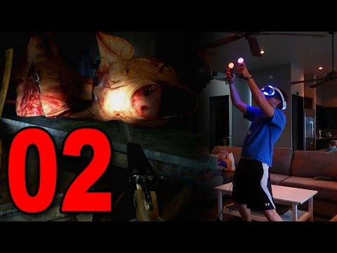 Until Dawn: Rush of Blood - Part 2 - PIGS (Playstation VR Gameplay)