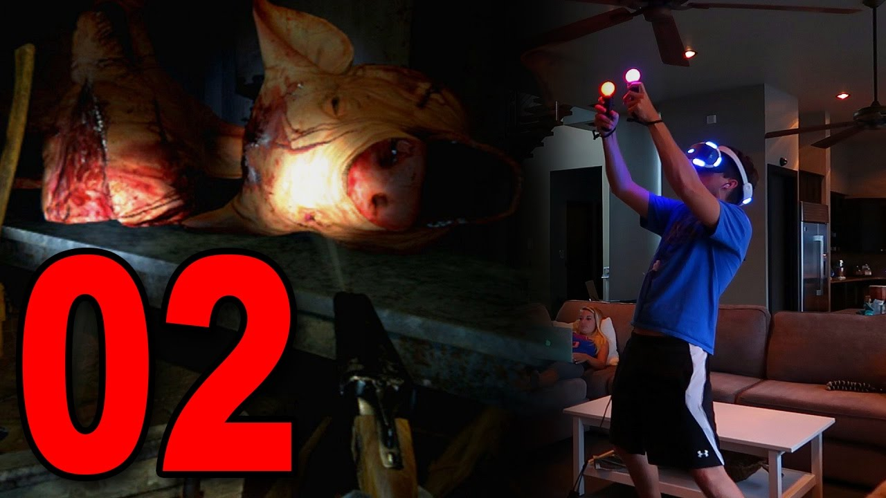 Until Dawn Rush Of Blood Part 2 Pigs Playstation Vr Gameplay