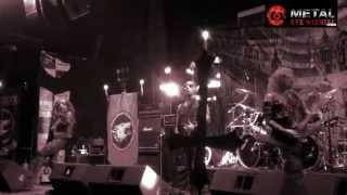 Watain - Sworn to the dark |Erik drums, Set vocals| (live Kmasu, Santiago, Chile 05-12-14)