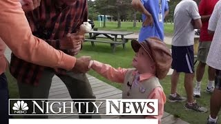 6 Year-Old Helps Younger Brother in Campaign for Mayor | NBC Nightly News