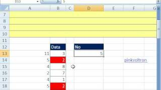 Excel Magic Trick 350: Conditional Format Values Listed 3 Times COUNTIF function Trick