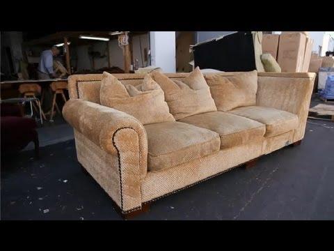 diy sofa repair modern sets india how to a sagging youtube