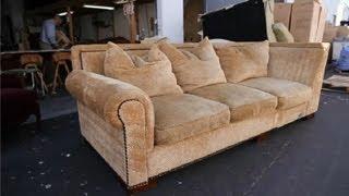How to Repair a Sagging Sofa : How to Repair a Sagging Sofa