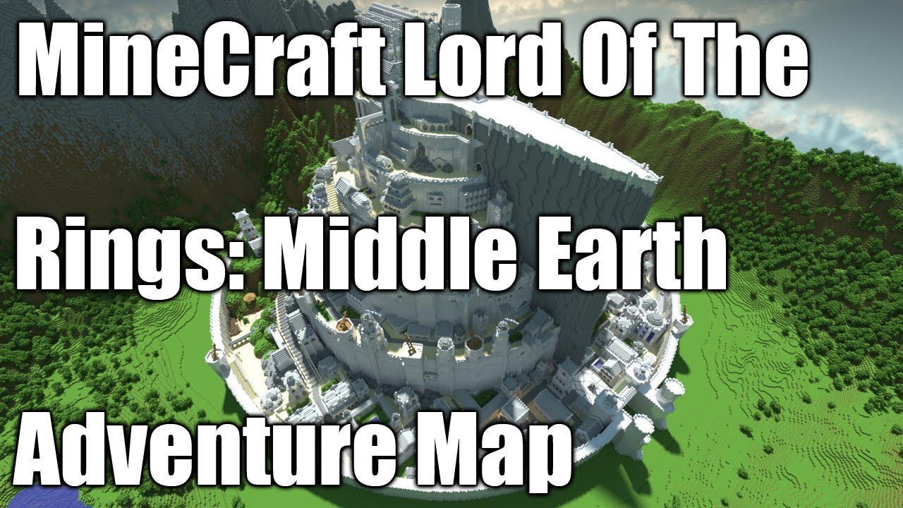 Minecraft lord of the rings middle earth adventure map youtube gumiabroncs Choice Image