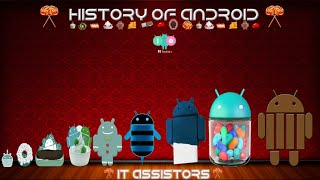 Evolution of Android 1.5 to 5.0+