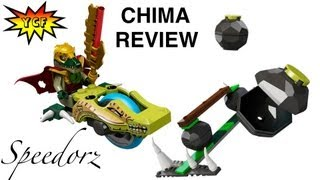 Lego Chima Chi Bowling Speedorz Review Set 70103 Legends Of Chima With Crominus Minifigure