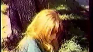 Rare Pamela Courson Clip