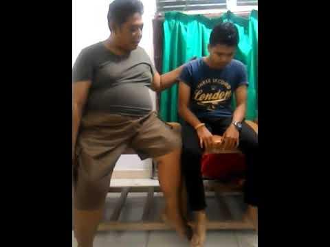 Saraf pinggang terjepit - HNP Lumbar L4 - L5 / Herniated Disc Lumbar  (low back pain)
