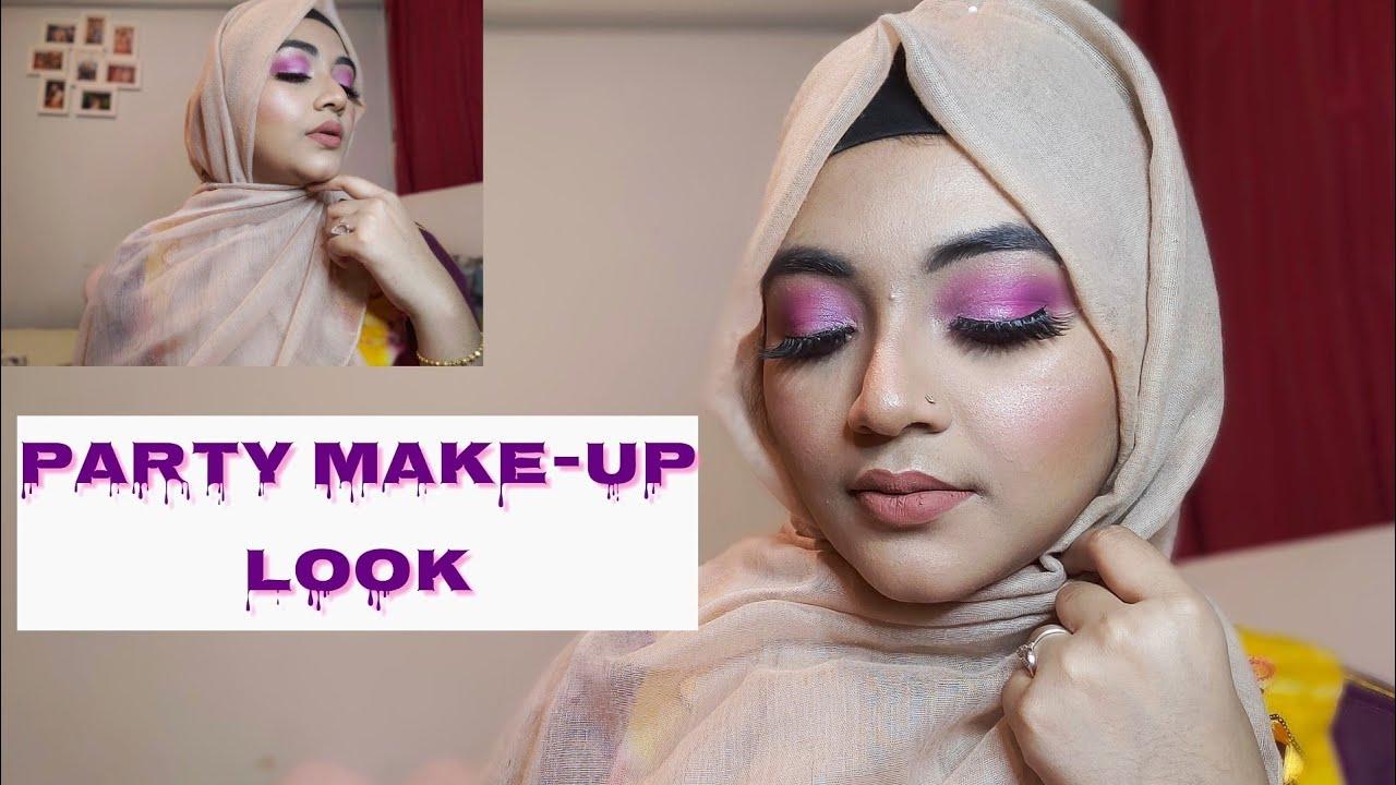 Party make-up tutorial 😍 beauty blog (বাংলা)