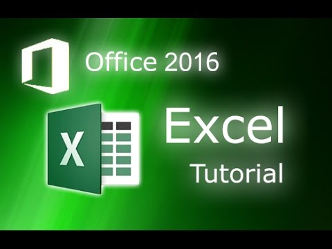 Microsoft Excel 2016 - Create and Manage your Charts and Graphs