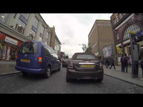 Let's Go for a Drive - Camden, London - GoPro Hero3 Black 2.7K