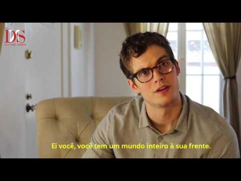 Daniel Sharman audição como Mr Lawrence (LEGENDADO)