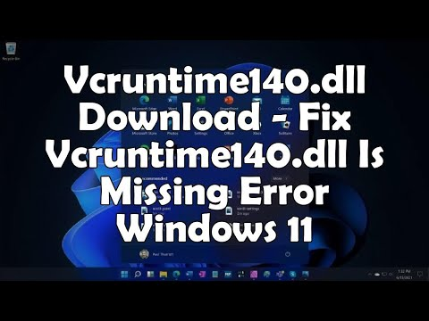✅ Vcruntime140.dll Download - Fix Vcruntime140.dll Is Missing Error Windows 11