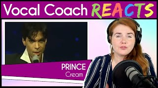 Vocal Coach reacts to Prince - Cream (Live At Webster Hall 2004)