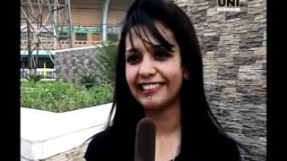 mila uni india tv interview during icc world cup 2011 hq