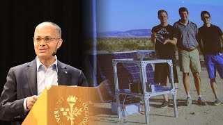 Omar Yaghi: Harvesting water from desert air