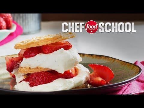 Cookies and Cream Napolean | Chef School